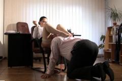 Screen shoot 6 from film ,,Office break time,,